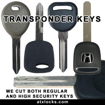 Austin Transponder keys chip keys cut and programmed lost keys replaced